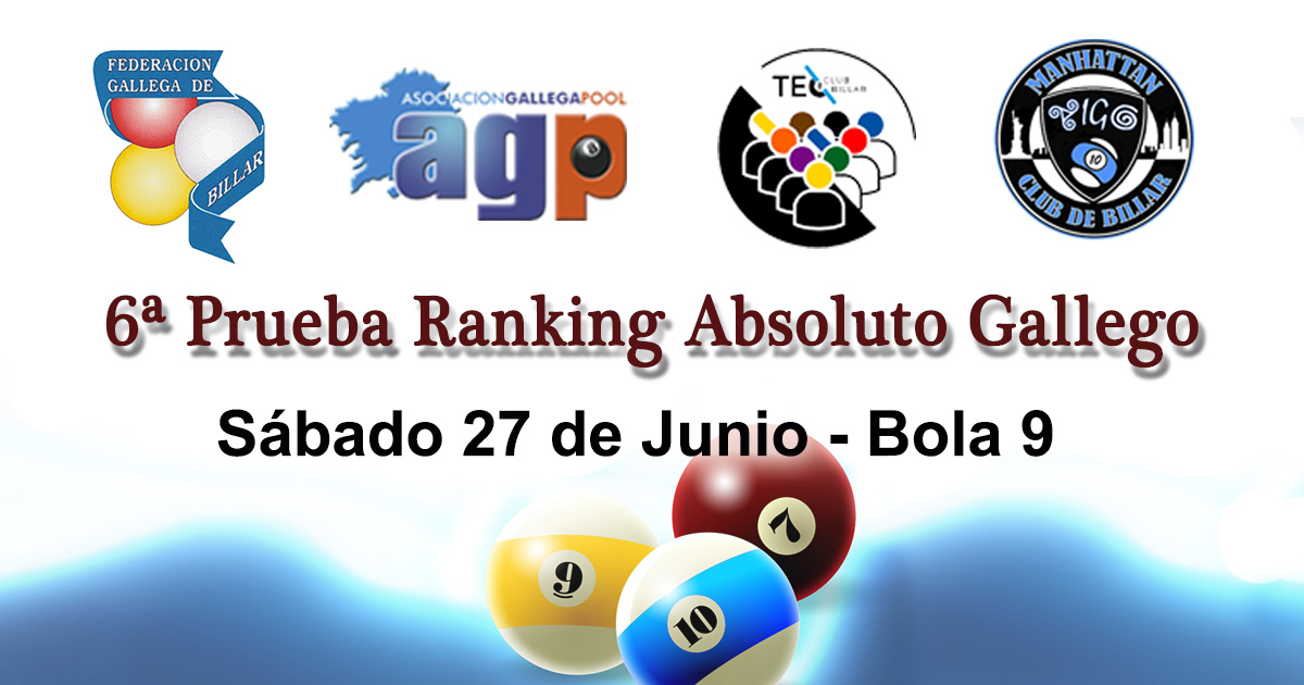 Ranking Absoluto Gallego - 6 Prueba